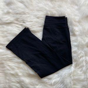 Roots Black Yoga Casual Capris Pants S